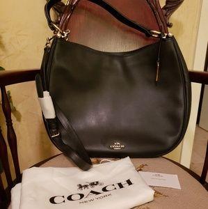 Coach Nomad Glovetanned Leather Handbag